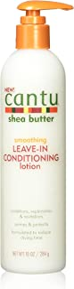 Cantu Shea Butter Smoothing Leave-In Conditioning Lotion, 10 Ounce (Pack of 4)