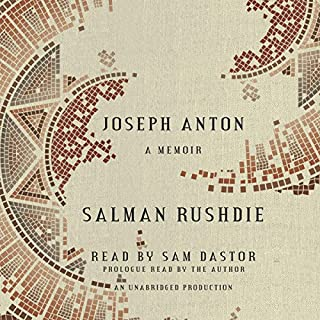 Joseph Anton audiobook cover art