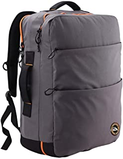"Cabin Max Edinburgh Carry On Travel Backpack Padded ipad/Laptop - Hand Luggage Designed to fit 21"" 40L"