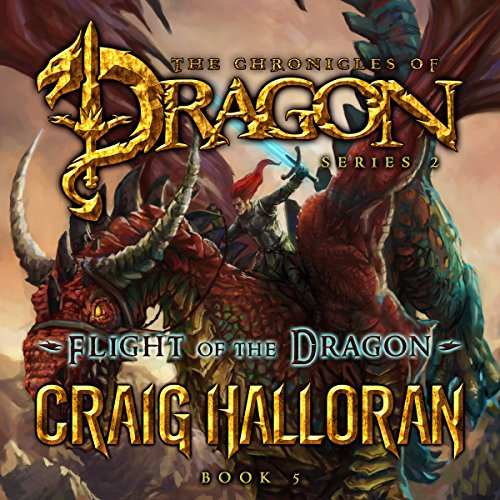 Flight of the Dragon audiobook cover art