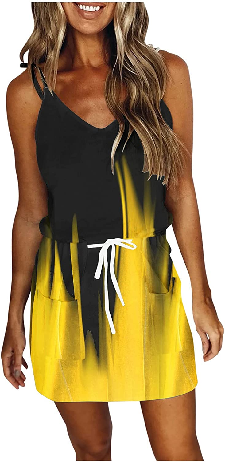 ORT Dresses for Women Limited time Limited price sale Party V Summer Casual Ne