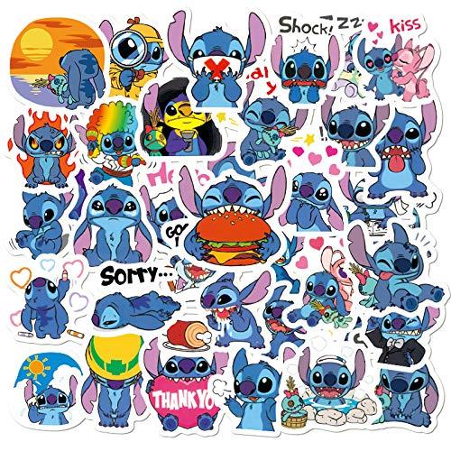 ZNMSB 50 Pegatinas de bebé interestelares animadas, Pegatinas de Coche, Pegatinas de Equipaje, Pegatinas de Graffiti Impermeables para Maletas con Ruedas