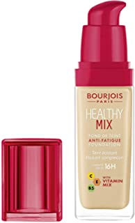 Bourjois Healthy Mix Anti-Fatigue Foundation. 52 Vanilla, 30 ml - 1.0 fl oz