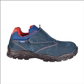 Cofra 22060-000.W45 Zapatos de Seguridad Talla 45 S1 P SRC Altímetro, Azul/Naranja