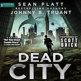 Dead City, Book 1 cover art
