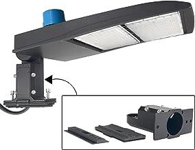 300W LED Parking Lot Light with Photocell 40500 Lumen Led Shoebox Pole Lights 5700K - Replace 1000W Metal Halide - Led Street Lights for Outdoor Area Lighting - New Arm/Slip Fit Mount(UL/DLC -Listed)
