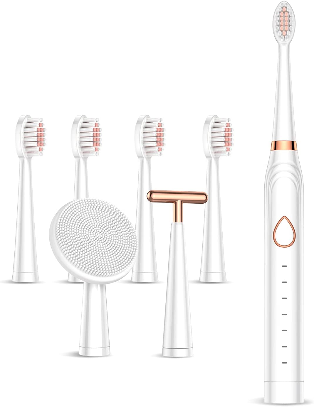Rechargeable Electric Toothbrush Sonic Cleaning Powerful Max 50% OFF Tooth Bombing free shipping
