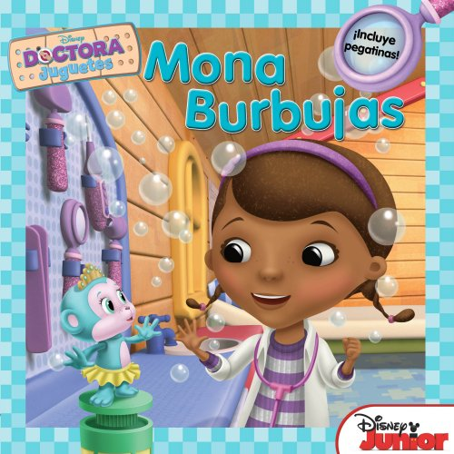 Doctora Juguetes. Mona Burbujas (Disney. Doctora Juguetes)