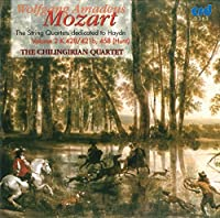 Mozart: The String Quartets dedicated to Haydn Volume 2 K.428/421b, 458