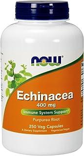 海外直送品 Now Foods ECHINACEA, 250 Caps 400 mg
