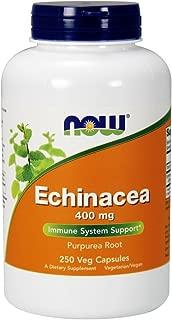 Now Supplements, Echinacea (Purpurea Root)400 mg, 250 Veg Capsules