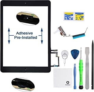 FixCracked Screen replacement for iPad 2 Front Touch Digitizer Assembly Repl...