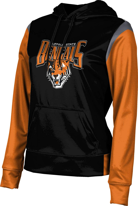 Buffalo State College Girls' Pullover Hoodie, School Spirit Sweatshirt (Tailgate)