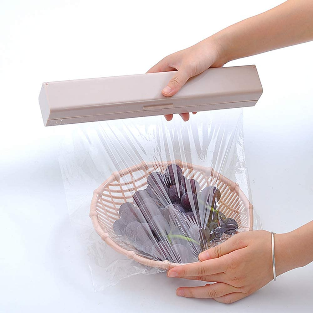 ANAC Plastic Wrap Ranking TOP15 Dispenser Special sale item with Dispens Film Cling Cutter