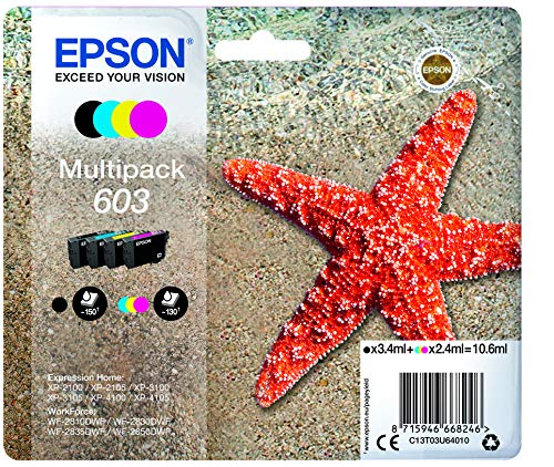 Epson Multipack 4-Colours 603 Ink - Druckerpatronen