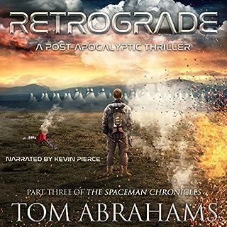 Retrograde audiobook cover art