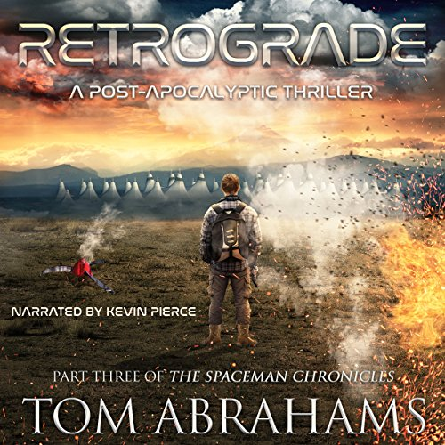 Retrograde audiobook cover art