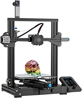 Creality Ender 3 V2 2021 FDM 3D Printer | Silent Motherboard Meanwell Power Supply | Carborundum Glass Bed | Color Display...