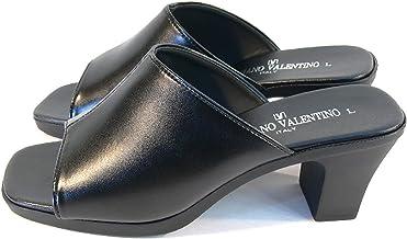 [ルチアーノ バレンチノ] 日本製 6.5cmヒール オフィスサンダル 履きやすい IM3901 レディース