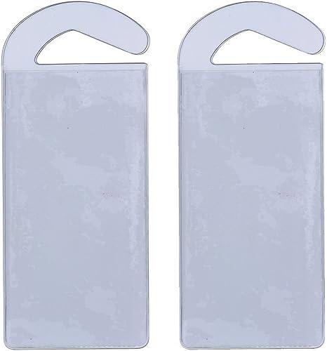 wholesale CloseoutZone Handicap wholesale Permit Placard lowest Protective Holder Set of 2 outlet sale