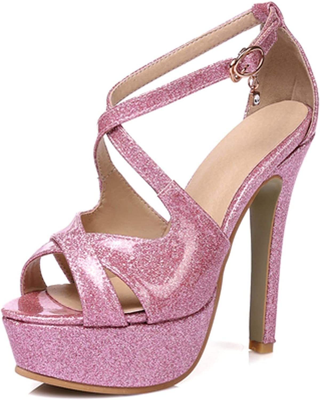 Sandals Summer Flip Flops High Heels Sandals Gladiator Sandalias Cross Tied Ladies shoes