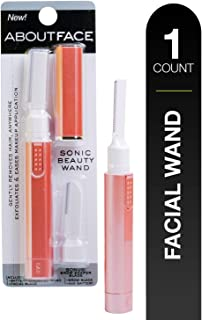 Kai About Face Products Sonic Smooth Beauty Wand; Includes 1 Battery Operated Wand, Sonic Exfoliator, Gently, Quickly Remo...