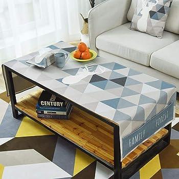 vbimlxft Couleur : Gray, Taille : 50X150cm Nappe de Caf/é de Style Japonais Nordic Cotton Petit Tapis de Table de Cabinet Fresh TV Rectangulaire Nappe