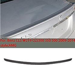 QCWY Adecuado para Mercedes-Benz CLS W219 Estilo AMG Spoiler Trasero del automóvil 2009-2014 Auto alerón CLS300 350500 Maletero de ala Fija