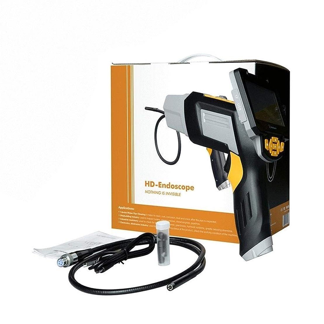 動機終わりスペシャリスト6 LEDライトが付いている工業用内視鏡1080のHDデジタルボアスコープカメラ防水4.3インチ液晶画面蛇カメラビデオ検査カメラ 家庭掃除 排水口 車 設備の点検