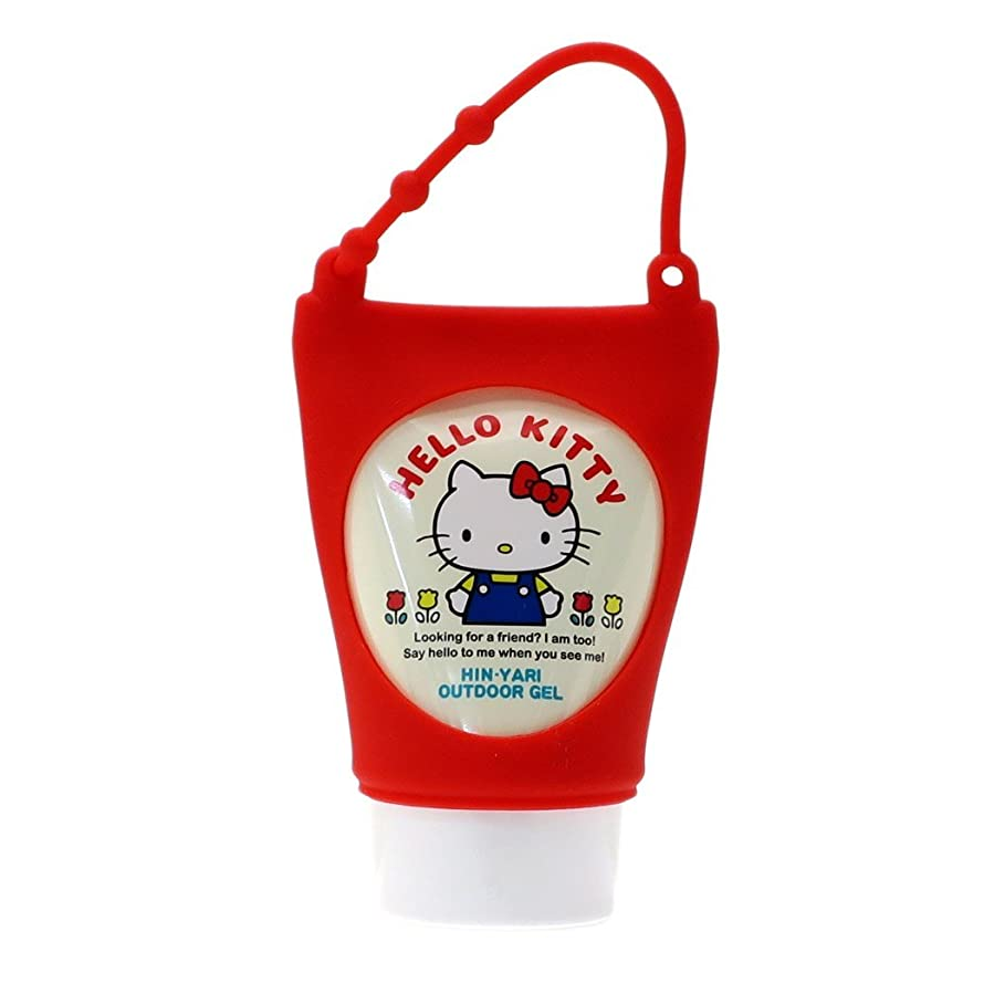 刺す理容師食器棚ハローキティ[アウトドア用品]ひんやりゲルクリームサンリオ サンタン 日本製 キャラクター グッズ 通販