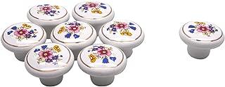 Best ceramic flower drawer knobs Reviews