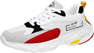 Lailailaily Fashion Wild Men Mix Colors Casual Shoes Comfortable Breathable Low-Top Sneakers