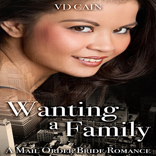 Wanting a Family audiobook cover art