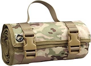SOWATT Shooting Mat, Roll Up Shooting Mat, Outdoor Non-Slip Training Shooting Mat for Camping, Army Green