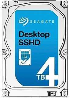Seagate FireCuda - Disco interno Híbrido SSHD de 4TB (3,5', 64MB Cache; SATA III - ST4000DX001) Plateado