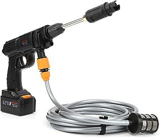 Pistola limpiadora a presión eléctrica - Lavadora a presión autocebante portátil, filtro fino de acero inoxidable incorpor...