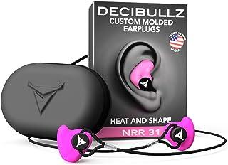 Decibullz Custom Molded Earplugs Pro Pack (Pink)