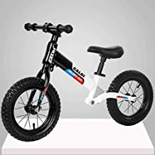 Mopoq Children's Balance Car Scooter Shock-free Pedalless Bicycles Pneumatic Tires Adjustable Handlebar Seat Suitable For ...