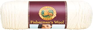 Lion Brand Yarn 150-098F Fishermen's Wool Yarn, Natural