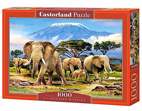 Castorland C-103188-2 - Kilimanjaro Morning, Puzzle 1000 Teile