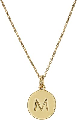 Kate Spade New York Kate Spade Pendants M Pendant Necklace