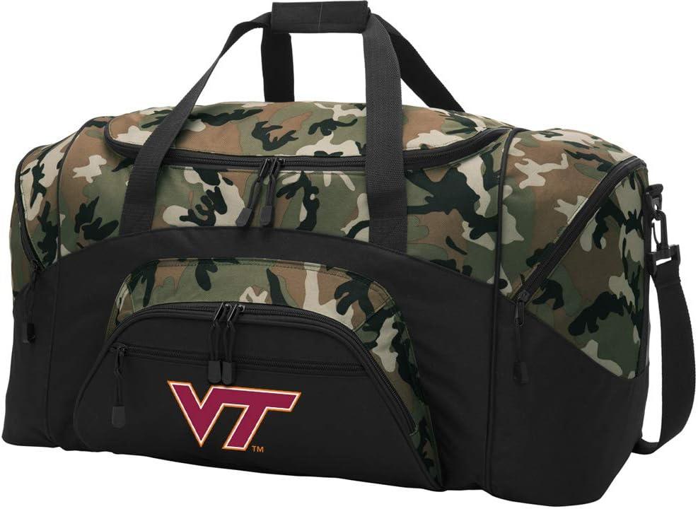 Broad Bay Large Virginia Tech Bag Duffel CAMO Challenge Mail order the lowest price Hoki
