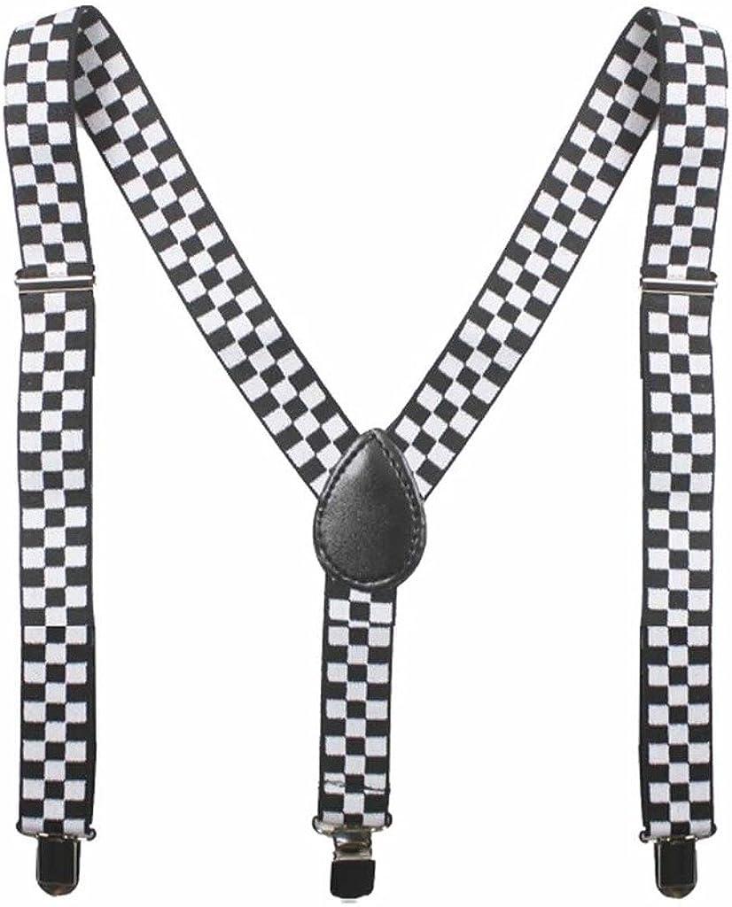 Kid- Toddlers Plain Elastic Y-Shape Suspender