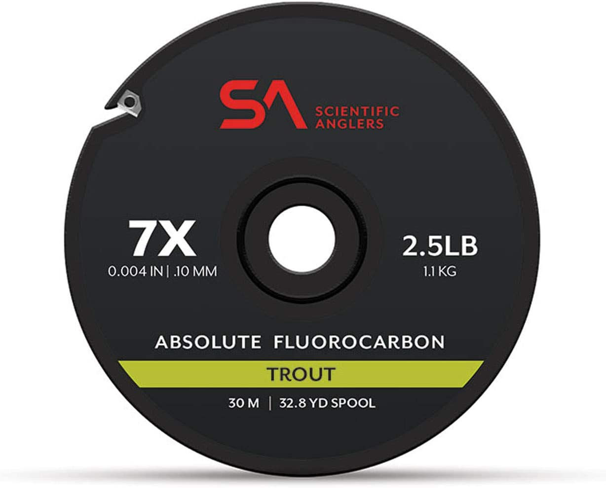 overseas Scientific Anglers Absolute Fluorocarbon Tippet - Trout 30m Genuine Free Shipping