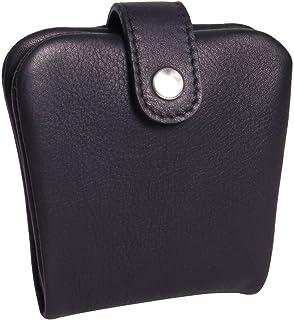 Gusti - Portafogli in pelle Conner in pelle, colore: Nero