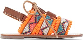 La Redoute Collections Girls Pom Pom Sandals