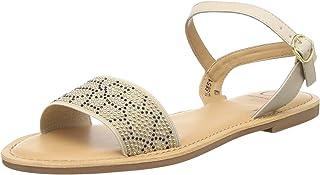 Carlton London Women's Flat Fashion Sandals
