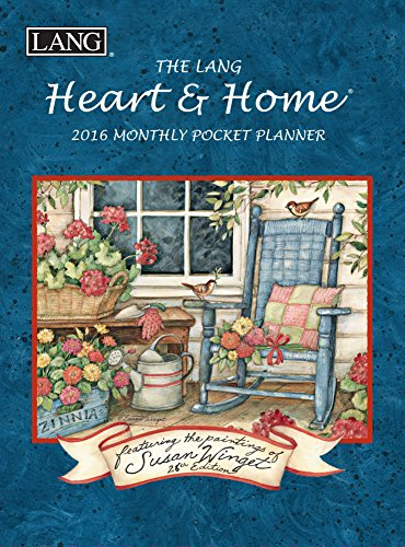 Lang Heart and Home 2016 Monthly Pocket Planner by Susan Winget, January 2016 to January 2017, 4.25 x 6.5 Inches (1003161)