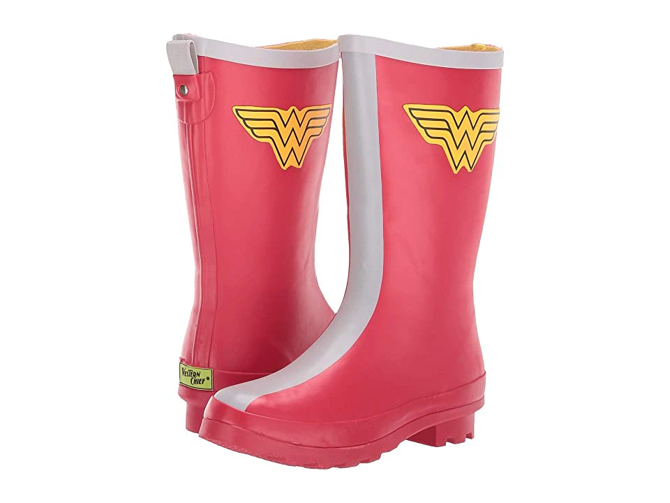 Western Chief Kids Wonder Woman Classic Tall (Little Kid/Big Kid) (Red) Girls Shoes