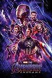 Close Up Marvel Avengers Endgame Poster One Sheet, Premium